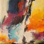 "96. ""Summergarden IV"" 10 x 10 cm. 800,- kr."