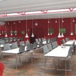Røde vægge - det var nyt, men superflot !