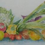 "31. ""Vegetables"" 30 x 21 cm 1000,-"