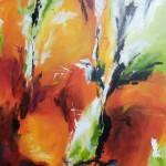 """48. """"Oranges in Spain"""" 80 x 80 cm 6800,-"""