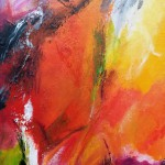 "50. ""Colourthoughts 1"" 20 x 40 cm. Pris: 2200,- kr."
