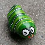 """""""Lille larve 1"""". Pris: 250,- kr."""