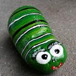 """""""Lille larve 2"""". Pris: 250,- kr."""