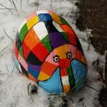 """""""Folmer i sneen"""" Pris: 300,- kr."""