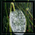 """76. """"Summer i DK I"""" 20 x 20 cm 1900,- kr."""